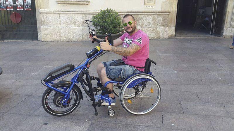 Óscar Jiménez, el hombre que hará el Camino de Santiago en silla de ruedas con un fin solidario