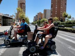 scooter alquiler benidorm
