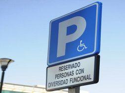 señal aparcamiento diversidad funcional