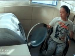 tareas del hogar silla de ruedas